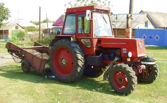 Фото трактора ЛТЗ 55