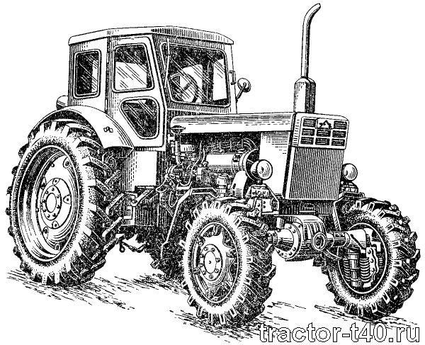 трактор Т-40 имеет