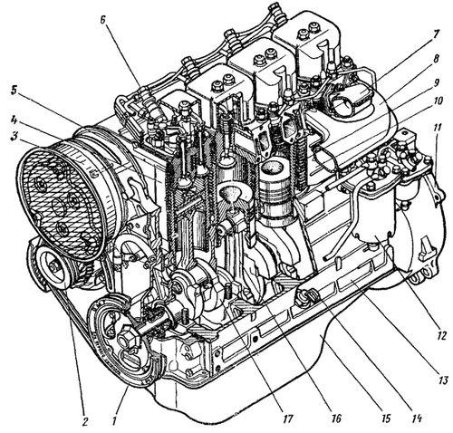 ремонт двигателя д-144 инструкция - фото 2