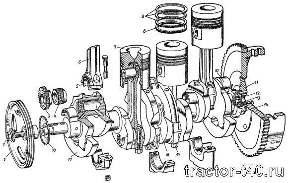 ремонт двигателя д-144 инструкция - фото 7